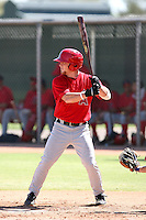 Kole Calhoun - Los Angeles Angels - 2010 Instructional League.Photo by:  Bill Mitchell/Four Seam Images..