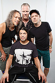 Jun 09, 2014: METALLICA - Photosession at Pinkpop Festival Holland