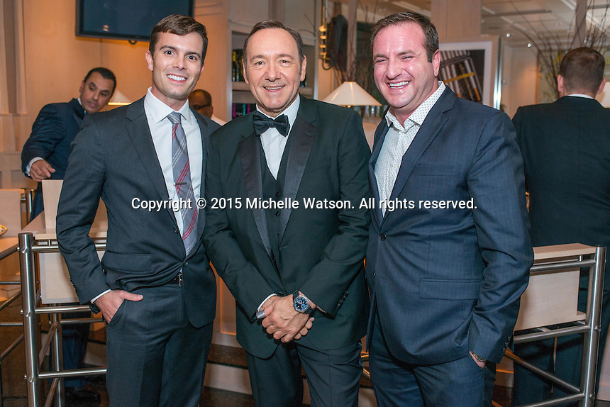 Best Buddies dinner at the home of John & Becca Cason Thrash with special guests Kevin Spacey, Carl Lewis and Anthony Kennedy Shriver.