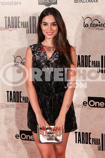 "Alejandra Veiro during the premiere of the film ""Tarde para la Ira"" in Madrid. September 08, 2016. (ALTERPHOTOS/Rodrigo Jimenez) /NORTEPHOTO.COM"
