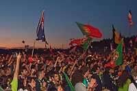 Different flags, overview on IST Opening celebration
