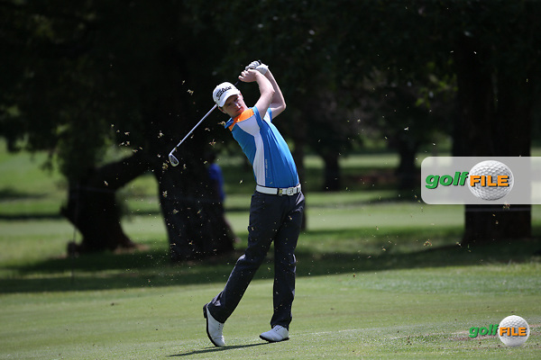 Kevin Phelan (IRL) begins Round One on the 10th hole at the 2016 Tshwane Open, played at the Pretoria Country Club, Waterkloof, Pretoria, South Africa.  11/02/2016. Picture: Golffile | David Lloyd<br /> <br /> All photos usage must carry mandatory copyright credit (&copy; Golffile | David Lloyd)