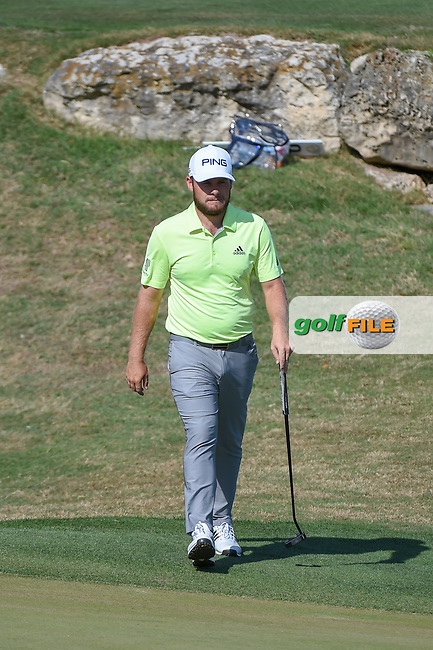 Tyrrell Hatton (ENG) approaches the green on 11 during day 1 of the WGC Dell Match Play, at the Austin Country Club, Austin, Texas, USA. 3/27/2019.<br /> Picture: Golffile | Ken Murray<br /> <br /> <br /> All photo usage must carry mandatory copyright credit (© Golffile | Ken Murray)