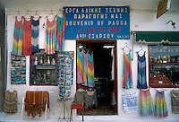 - souvenirs shop in Parga village, on the western coast ....- negozio di souvenirs nel paese di Parga, sulla costa occidentale