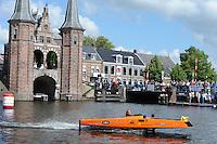 ALGEMEEN: SNEEK: 01-07-2014, Solar Challenge, ROC Friese Poort boot, ©foto Martin de Jong