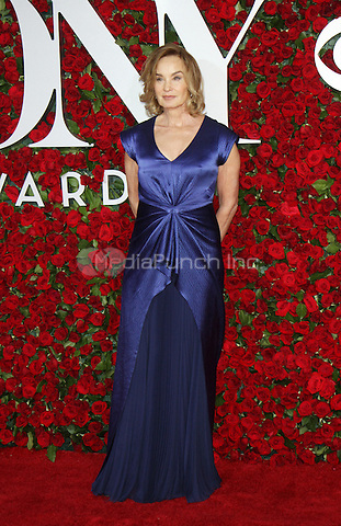 NEW YORK, NY-June 12: Jessica Lange at the 70th Annual Tony Awards at the Beacon Theatre in New York. NY June 12, 2016. Credit:RW/MediaPunch