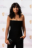 London, UK. 8 May 2016. Presenter Claudia Winkleman. Red carpet  celebrity arrivals for the House Of Fraser British Academy Television Awards at the Royal Festival Hall.