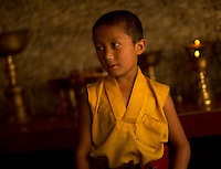 Buddhist student monk in Sikkim India