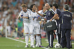 Real Madrid's  players during Super Copa of Spain on Agost 29th 2012...Photo:  (ALTERPHOTOS/Ricky)