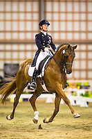 NZL-Julie Brougham (VOM FEINSTEN) 2ND-South Street West Grand Prix Championship Round 1 CDI3* FEI Grand Prix Special: 2015 NZL-Bates NZ Dressage Championships, Manfeild Park - Feilding (Friday 6 March) CREDIT: Libby Law COPYRIGHT: LIBBY LAW PHOTOGRAPHY