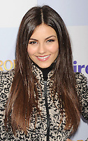 HOLLYWOOD, CA - MARCH 17: Victoria Justice arrives at the 'Mirror Mirror' Los Angeles Premiere at Grauman's Chinese Theatre on March 17, 2012 in Hollywood, California.