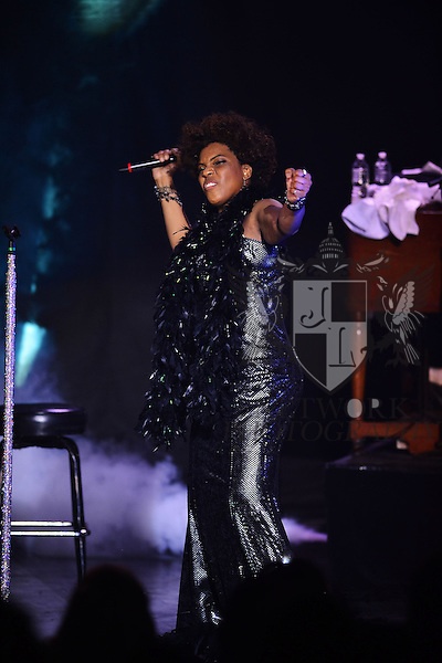 MIAMI, FL - DECEMBER 31: Macy Gray performs during her 14th Anniversary - 'On How Life Is' and celebrate the New Year at Casino Miami Jai-Alai on December 31, 2013 in Miami, Florida. (Photo by Johnny Louis/jlnphotography.com)