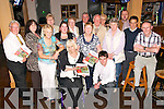 Listowel Tidy Towns : Listowel Tidy Towns committee were celebrating on Monday night at Christie's Bar, Listowel after winning a gold medal for the fifth year in a row and were only 5 points behind the winners Abbeyshrule...Front : Cllr. Jackie Barrett & Chairman Jimmy Moloney. Back : Kieran Moloney, Margaret Sheehan, Julie Gleeson, Imelda Murphy, Margaret O'Hanlon, Betty McGrath, Joe O'Hanlon, Peter McGrath, Daisy Foley, Mary McGrath, John Moore, John Corridon & Sheamus O'Connor.