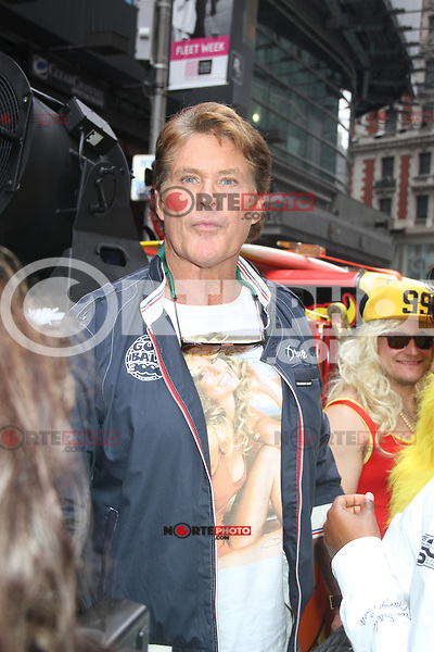 David Hasselhoff at The Gumball 3000 Rally at Times Square in New York City. May 25, 2012. ©RW/MediaPunch Inc.