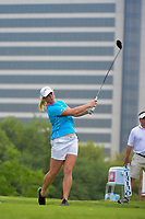 Jacqui Concolino (USA) watches her tee shot on 3 during round 3 of  the Volunteers of America Texas Shootout Presented by JTBC, at the Las Colinas Country Club in Irving, Texas, USA. 4/29/2017.<br /> Picture: Golffile | Ken Murray<br /> <br /> <br /> All photo usage must carry mandatory copyright credit (&copy; Golffile | Ken Murray)
