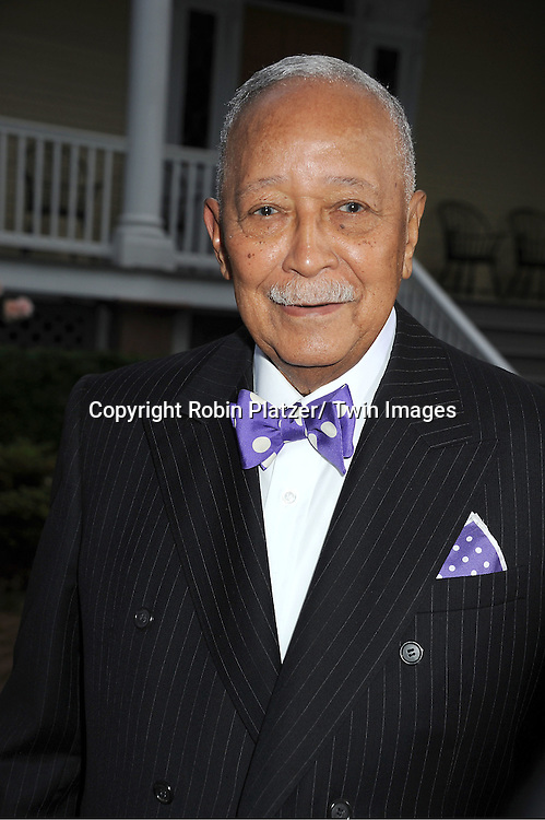 "David Dinkins attend the ""Made in NY""  Awards at Gracie Mansion on June 4, 2012 in New York City."