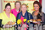 Attending the Daffodil day coffee morning organised by St Anne's Traveller Education Centre at Ballyspillane FRC last Friday. .L-R Bridget Leigh, Crystal Dooley, Jane O'Brien and Stacey O'Brien.