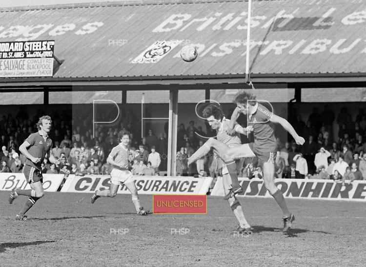 29/03/80 Blackpool v Millwall League Divsion 3.....© Phill Heywood.