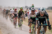Mark Cavendish  (GBR/Dimension Data) on pav&eacute; sector #6<br /> <br /> Stage 9: Arras Citadelle &gt; Roubaix (154km)<br /> <br /> 105th Tour de France 2018<br /> &copy;kramon