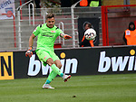 07.10.2018, Stadion an der Wuhlheide, Berlin, GER, 2.FBL, 1.FC UNION BERLIN  VS. 1.FC Heidenheim, <br /> DFL  regulations prohibit any use of photographs as image sequences and/or quasi-video<br /> im Bild Rafael Gikiewicz (1.FC Union Berlin #1)<br /> <br /> <br />      <br /> Foto &copy; nordphoto / Engler