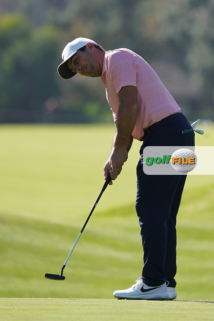 Francesco Molinari (ITA) during the Pro-Am ahead of the The Genesis Invitational, Riviera Country Club, Pacific Palisades, Los Angeles, USA. 11/02/2020<br /> Picture: Golffile | Phil Inglis<br /> <br /> <br /> All photo usage must carry mandatory copyright credit (© Golffile | Phil Inglis)