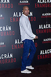 04.05.2012. Presentation at the Hotel Me Madrid in the film ´Alacrán Enamorado´ directed by Santiago A. Zannou produced by Alvaro Longoria and with actors Carlos Bardem, Javier Bardem, Miguel Angel Silvestre, Alex Gonzalez and Judith Diakhate. In the image Santiago A. Zannou  (Alterphotos/Marta Gonzalez)