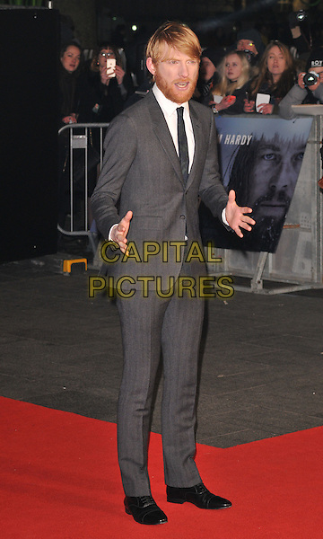 Domhnall Gleeson attends the &quot;The Revenant&quot; UK film premiere, Empire cinema, Leicester Square, London, UK, on Thursday 14 January 2016.<br /> CAP/CAN<br /> &copy;Can Nguyen/Capital Pictures