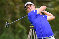 Justin Thomas (USA) watches his tee shot on 8 during round 3 of the World Golf Championships, Mexico, Club De Golf Chapultepec, Mexico City, Mexico. 3/4/2017.<br /> Picture: Golffile | Ken Murray<br /> <br /> <br /> All photo usage must carry mandatory copyright credit (&copy; Golffile | Ken Murray)