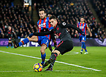 Crystal Palace's Yohan Cabaye tussles with Arsenal's Granit Xhaka during the premier league match at Selhurst Park Stadium, London. Picture date 28th December 2017. Picture credit should read: David Klein/Sportimage