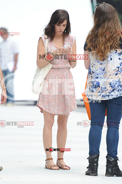 """Kristen Wiig on the set of """"The Secret Life of Walter Mitty"""" in New York City. June 3, 2012. ©mpi15/MediaPunch Inc."""