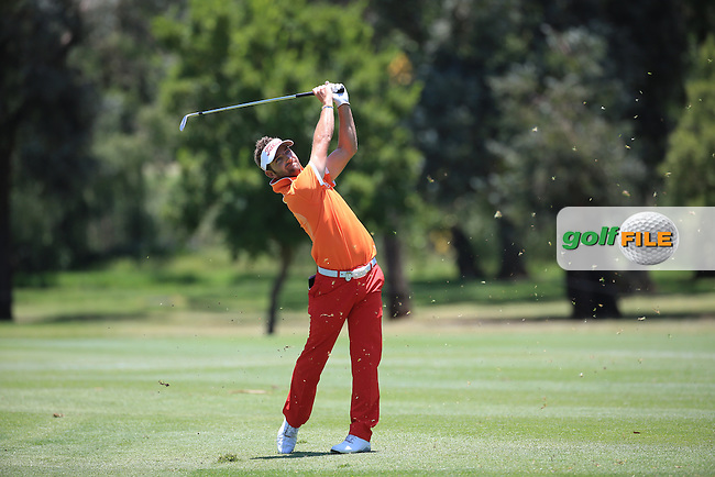 Jbe Kruger (RSA) held the leader of the field during Round Two of the 2016 BMW SA Open hosted by City of Ekurhuleni, played at the Glendower Golf Club, Gauteng, Johannesburg, South Africa.  08/01/2016. Picture: Golffile | David Lloyd<br /> <br /> All photos usage must carry mandatory copyright credit (&copy; Golffile | David Lloyd)