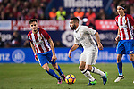 Daniel Carvajal Ramos of Real Madrid in action during their La Liga match between Atletico de Madrid and Real Madrid at the Vicente Calderón Stadium on 19 November 2016 in Madrid, Spain. Photo by Diego Gonzalez Souto / Power Sport Images