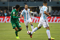 Seattle, WA - Tuesday June 14, 2016: Gonzalo Higuain during a Copa America Centenario Group D match between Argentina (ARG) and Bolivia (BOL) at CenturyLink Field.