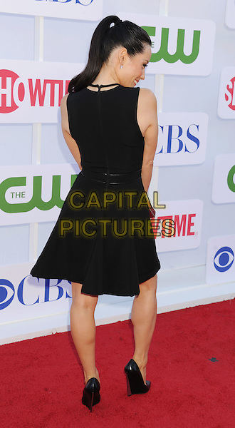 Lucy Liu.CBS, CW, Showtime 2012 Summer TCA Party held at The Beverly Hilton Hotel, Beverly Hills, California, USA..July 29th, 2012.full length dress back behind rear ponytail black sleeveless .CAP/ROT/TM.©Tony Michaels/Roth Stock/Capital Pictures
