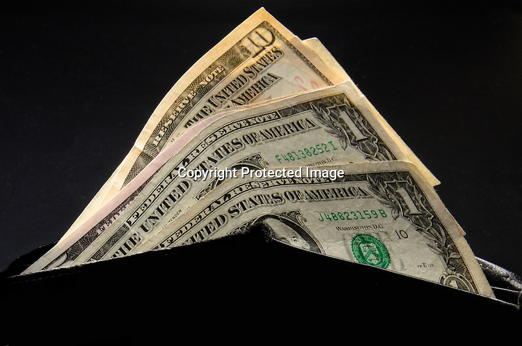 Stock Photo American Money