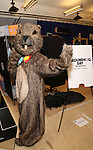 """Mr. Groundhog attends the """"Groundhog Day'' press day at The New 42nd Street Studios on February 2, 2017 in New York City."""