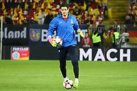 Ex-Eintracht Torwart Emil Balayev (Aserbaidschan) - 08.10.2017: Deutschland vs. Asabaidschan, WM-Qualifikation Spiel 10, Betzenberg Kaiserslautern