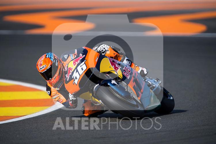 VALENCIA, SPAIN - NOVEMBER 11: Mika Kallio during Valencia MotoGP 2016 at Ricardo Tormo Circuit on November 11, 2016 in Valencia, Spain