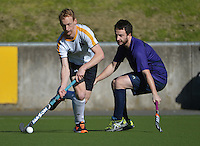 140817 Wellington Men's Club Hockey - Kapiti v Harbour City Premier Two