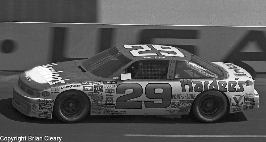 Dale Jarrett competes in the Transouth 500 at Darlington Raceway in Darlington, SC on March 20, 1988. (Photo by Brian Cleary/www.bcpix.com)