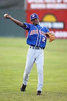 August 18th, 2007:  Carlos Vasquez of the Auburn Doubledays, Class-A affiliate of the Toronto Blue Jays at Dwyer Stadium in Batavia, NY.  Photo by:  Mike Janes/Four Seam Images