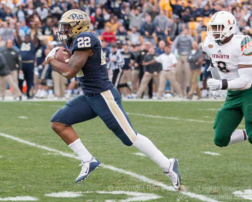 Pitt Running Back Darrin Hall Scores Ron Pradetto Photography
