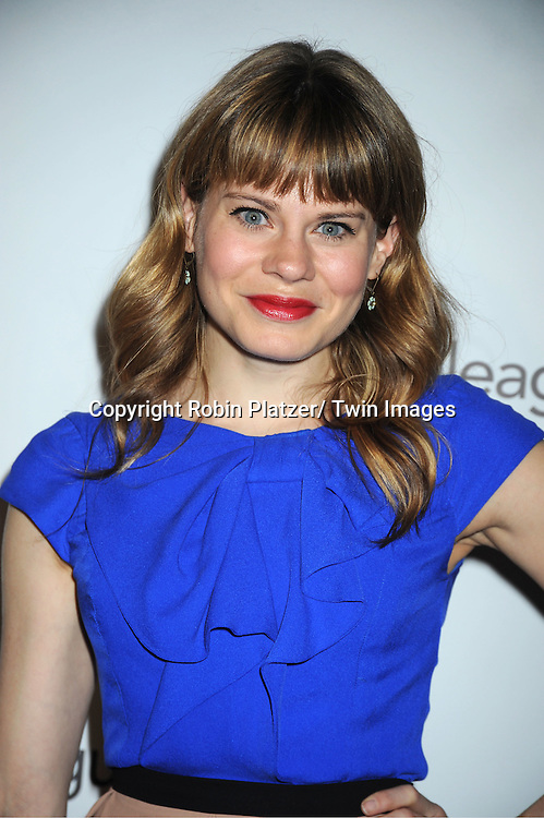 Celia Keenan-Bolger attends the 78th Annual  Drama League Awards Luncheon at The Marriott Marquis Hotel in New YOrk City on May 18, 2012.