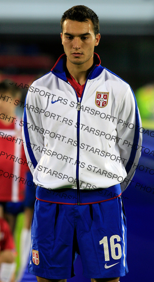 Ivan Obradovic Sport Fudbal Reprezentacija Soccer Serbia National Team Cameroon Friendly FIFA World Cup 2010 Be;grade Serbia Beograd Srbija 5.6.2010. photo: Pedja Milosavljevic / STARSPORT / thepedja@gmail.com / +381641260959