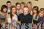 Having a great night out at the Back to Banna Night in aid of Bouleenshere N.S. held in The Banna Beach Hotel on Saturday night were l/r Ruth O'Connor, Tommy Mansell, Eva Barry, Edmund Griffin, Sarah Collins, Conor Fitzell, Mairead O'Mahony, Laura Long and Laura Horrigan......................................................................................................................................... ............
