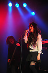Kaohsiung, Taiwan -- Singer Keiko of the Japanese metal band 6FT.DOWN performing in the 'Kiss Me Kill Me Tour 2011' at The Wall Live House (Pier 2).