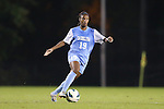 18 October 2012: UNC's Crystal Dunn. The University of North Carolina Tar Heels defeated the Duke University Blue Devils 2-0 at Koskinen Stadium in Durham, North Carolina in a 2012 NCAA Division I Women's Soccer game.