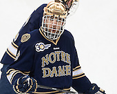 Shayne Taker (ND - 3) - The Boston College Eagles defeated the visiting University of Notre Dame Fighting Irish 4-2 to tie their Hockey East quarterfinal matchup at one game each on Saturday, March 15, 2014, at Kelley Rink in Conte Forum in Chestnut Hill, Massachusetts.