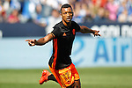 Valencia CF's Luis Nani celebrates goal during La Liga match. September 25,2016. (ALTERPHOTOS/Acero)
