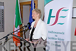 Mairead Fernane speaking at the official opening of the Tralee Community Nursing Unit on Friday.